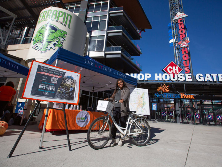 Biketober Challenges Cumberland CID Companies and Commuters to Cycle