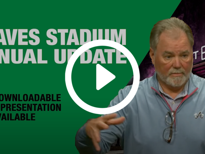 Annual Financial Update on Braves Stadium