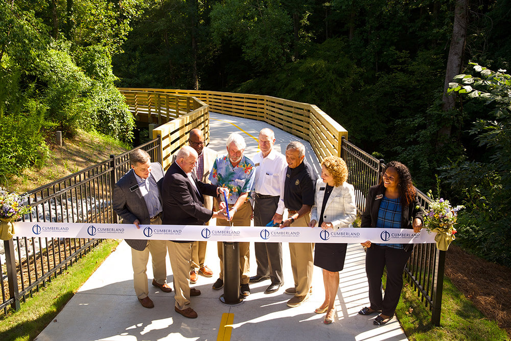 Bob Callan Trail Ribbon-Cutting