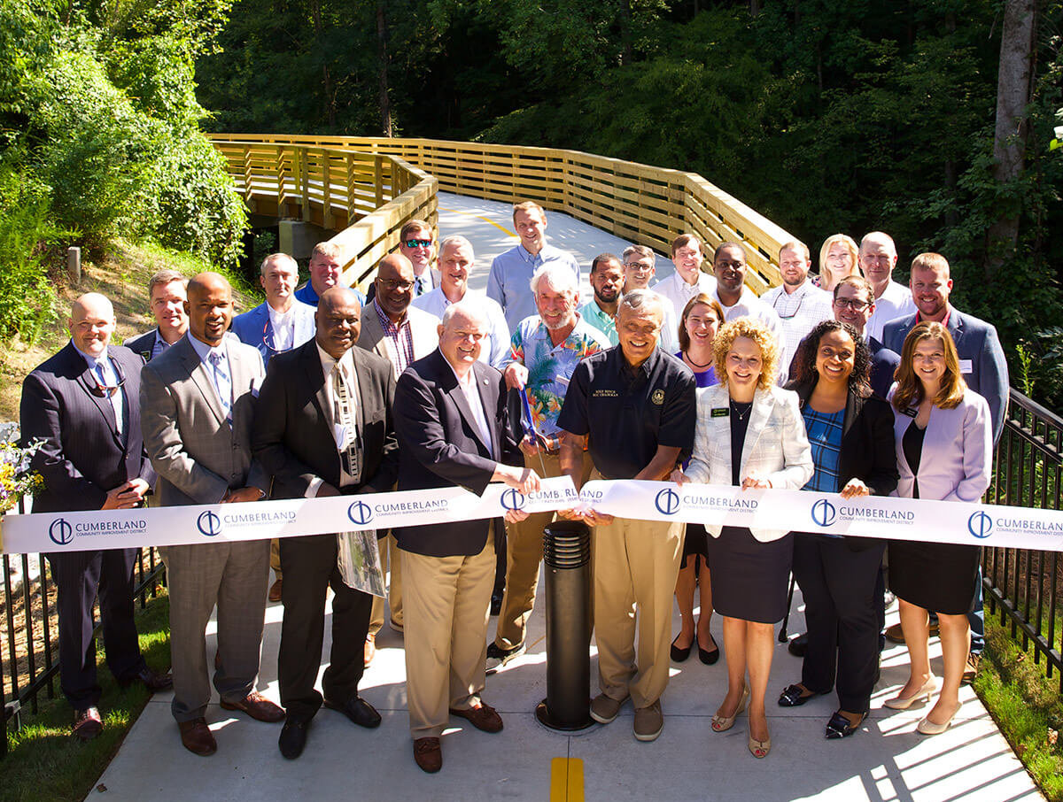 Bob Callan Trail Extension Ribbon-Cutting