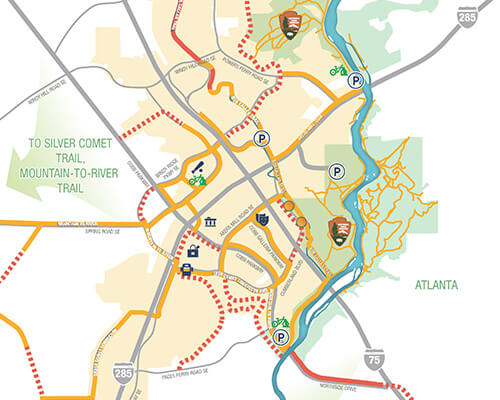 Cumberland CID Trails Map 2019